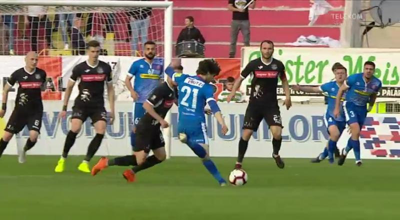 FC Botoșani a câștigat derby-ul Moldovei cu Poli Iași, scor 3-0!