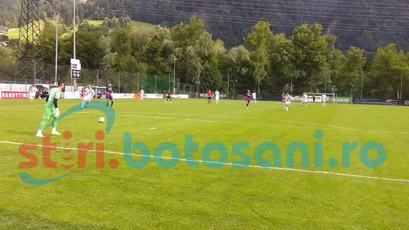FC Botosani a castigat meciul cu vicecampioana Albaniei! Neziri, primul gol marcat pentru botosaneni!