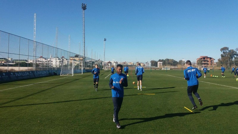 FC Botoșani a efectuat primul antrenament în Antalya, la +14 grade Celsius! FOTO