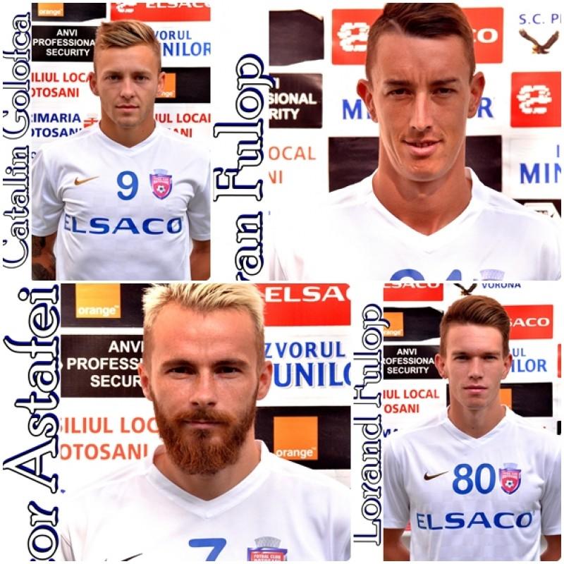 FC Botoșani a făcut instrucție cu Poli Timișoara, scor 0-5! Golofca, Astafei si frații Fulop au marcat!