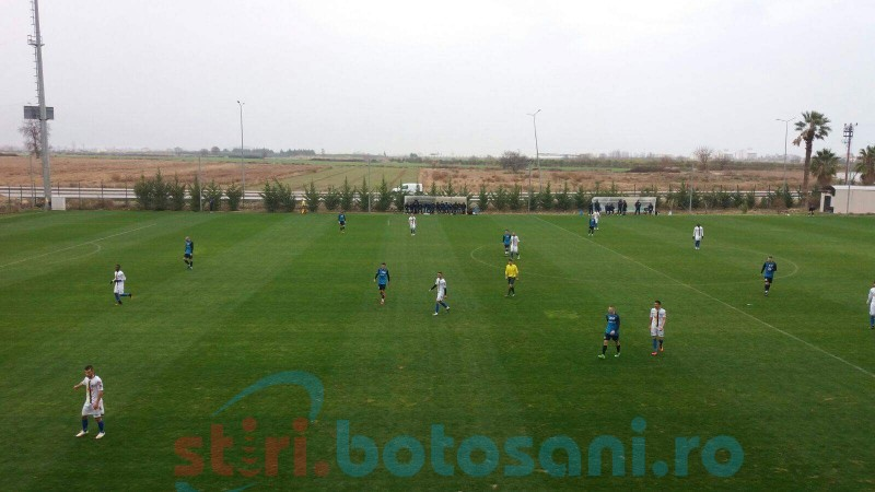 FC Botosani a fost invinsa in primul amical din Turcia! FOTO