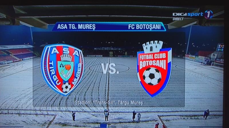 FC Botosani a fost invinsa la Targu Mures! Botosanenii au 5 meciuri fara victorie!
