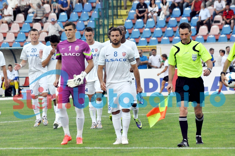 FC Botosani a invins cu 3-1 pe Rapid CFR Suceava, intr-un meci amical! Codoban a revenit!