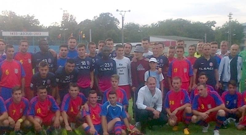 FC Botosani a invins cu 7-0 echipa din Adjud, in amicalul caritabil! Vezi cati bani s-au strans!