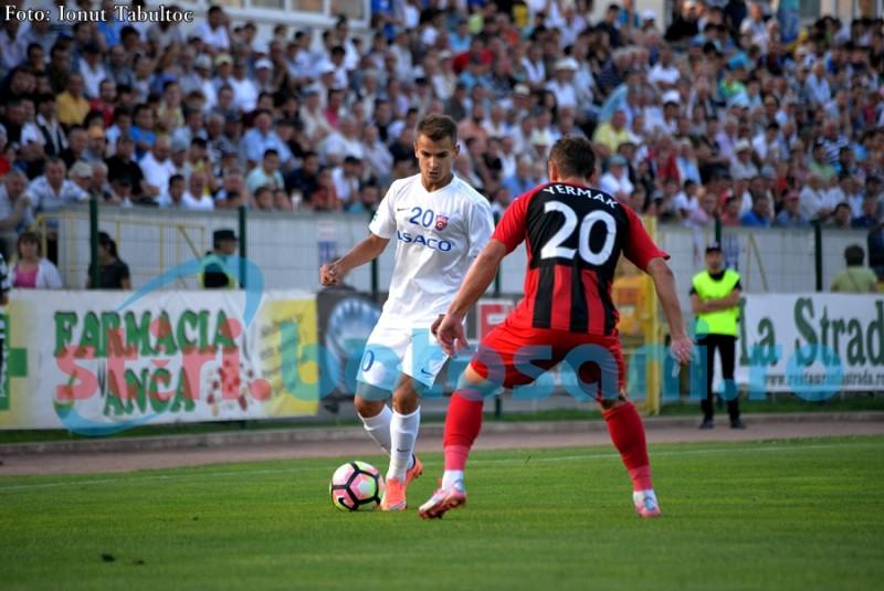 FC Botosani a invins pe Zaria Balti, intr-o partida amicala cu aproape 2.000 de spectatori in tribune! FOTO
