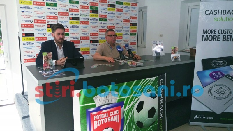 FC Botosani a lansat carduri pentru suporteri! Il primesti GRATUIT, iar cand faci cumparaturi cu el primesti inapoi o suma de bani! FOTO