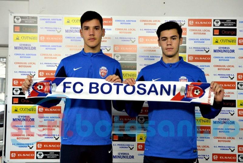 FC Botosani a legitimat inca doi juniori! Unul a fost rezerva la un meci din Liga 1! FOTO
