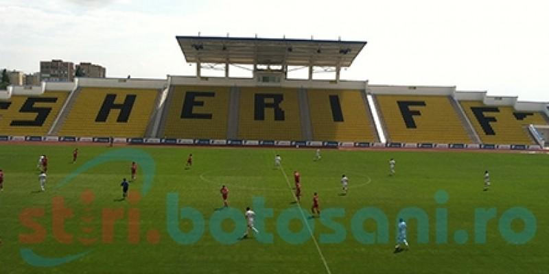 FC Botosani a pierdut meciul amical de la Tiraspol, dupa ce a condus cu 1-0