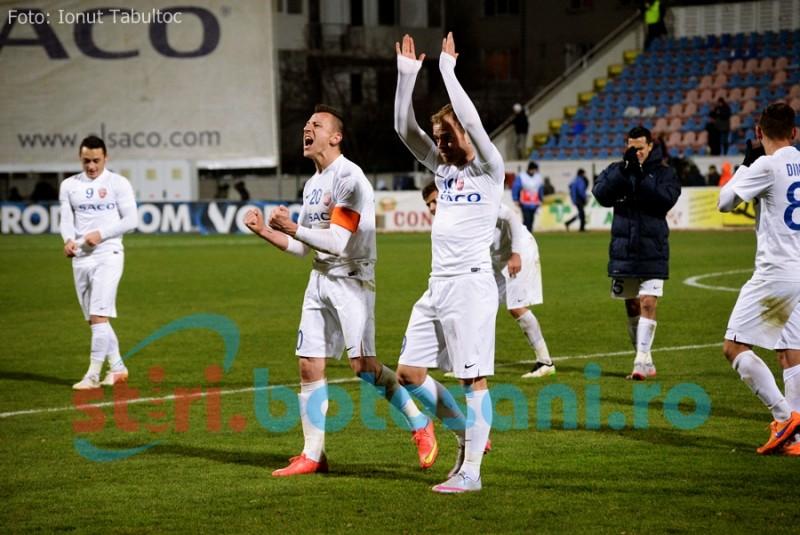 FC Botosani a plecat in aceasta noapte spre Turnu Severin