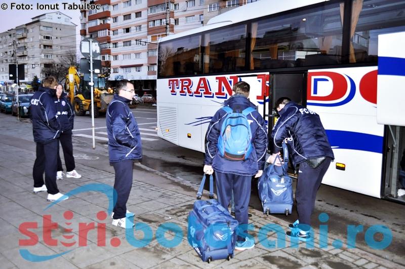 FC Botosani a plecat in cantonamentul de la Baile Felix - GALERIE FOTO