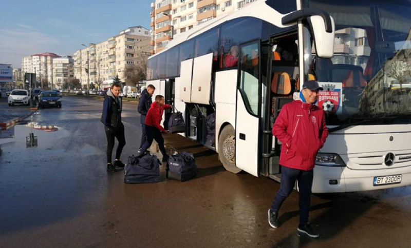 FC Botoșani a plecat în cantonamentul din Antalya