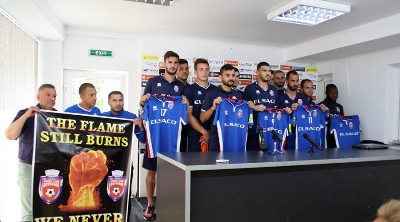 """FC Botoșani a prezentat noii jucători. """"Sunteți martorii unui mare început!"""""""