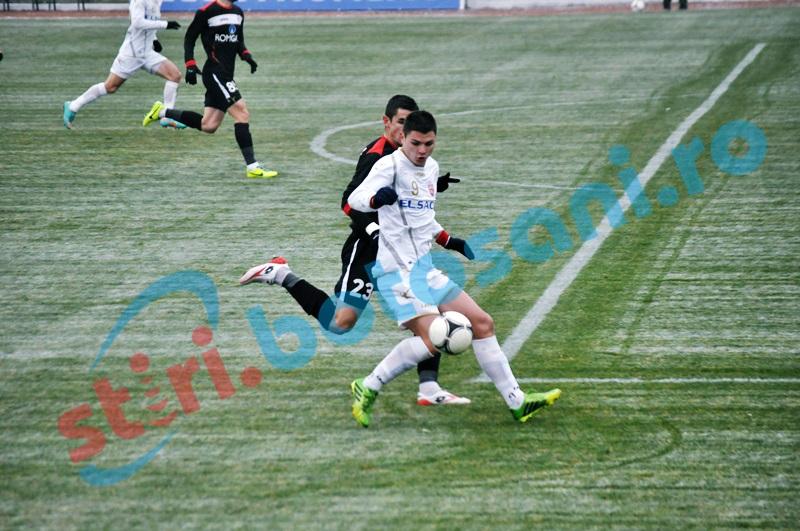 FC Botosani a suferit a patra infrangere in meciurile amicale
