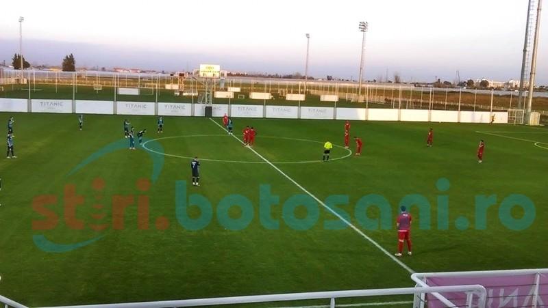 FC Botosani a terminat la egalitate meciul cu Eskisehirspor - FOTO
