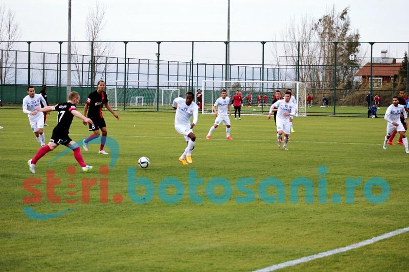 FC Botosani a terminat la egalitate meciul cu MFK Ružomberok (1-1)