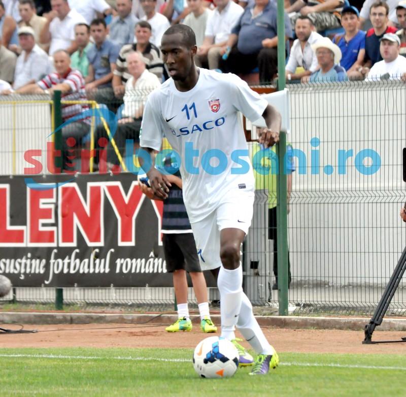 "FC Botosani a topit ""otelul"" la Galati! Olandezul Martinus, eroul partidei!"