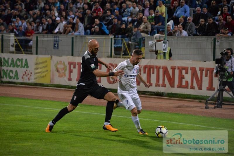 FC Botosani bifeaza prima infrangere pe teren propriu, dupa o repriza secunda dezastruoasa! GALERIE FOTO