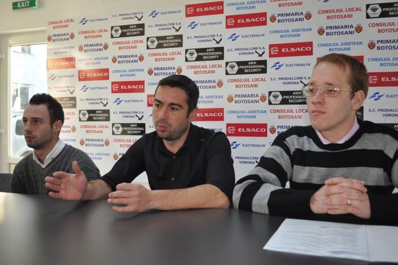 FC Botosani cere sprijinul suporterilor pentru a-l ajuta pe Nicu Pavil!