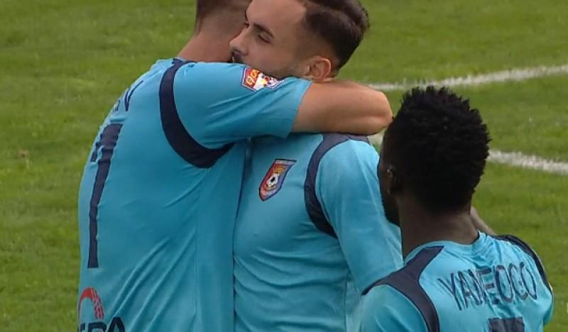 FC Botoșani - Chindia Târgoviște 0-2! Băieții lui Croitoru nu reușesc să iasă din criză