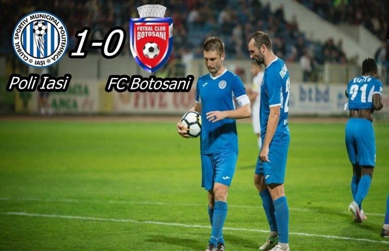 FC Botoşani coboară două locuri în clasament, după etapa cu numărul 24