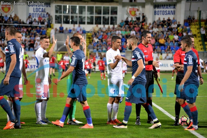 FC Botoșani, decimată de accidentări și suspendări, înaintea meciului cu Târgu Mureș!