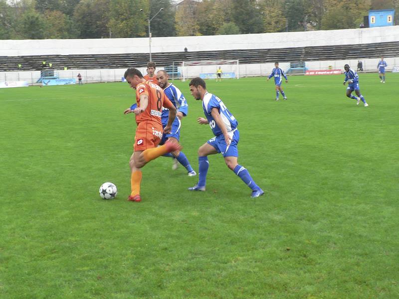 FC Botosani - Dunarea Galati: 0-0 la pauza!