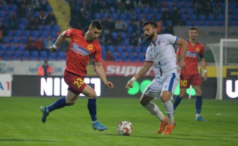FC Botoșani-FCSB, un meci disputat, dar un nou eșec: 0-2!