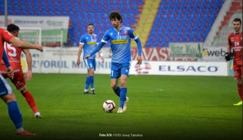 FC Botoşani - Hermannstadt 1-0. Liviu Ciobotariu, salvat în ultimul minut de Fabbrini