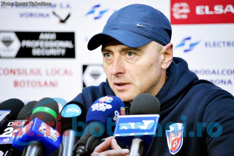 """FC Botosani, inaintea meciului cu Legia Varsovia: """"S-a dovedit de atâtea ori că cei care sunt outsideri pot încurca favorita"""""""