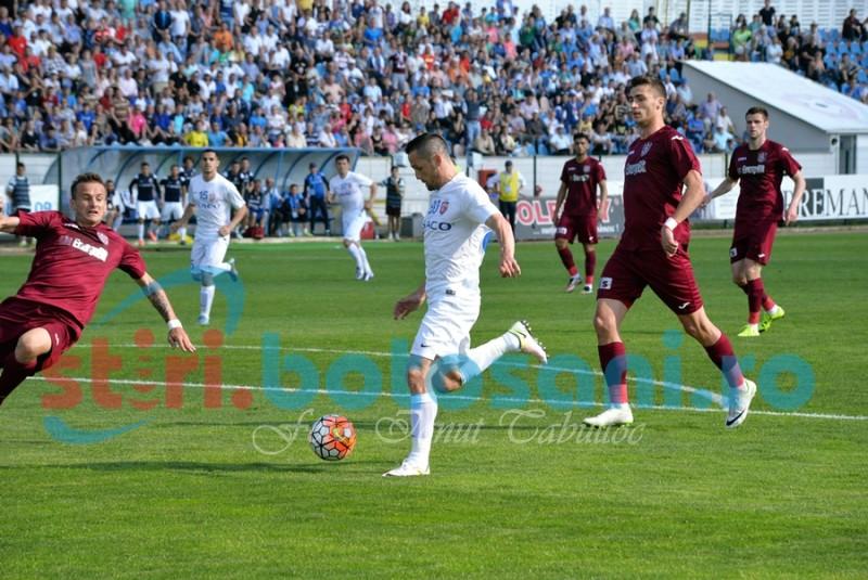 FC Botosani invinge cu 4-0 pe CFR Cluj si termina campionatul pe locul 9 - FOTO