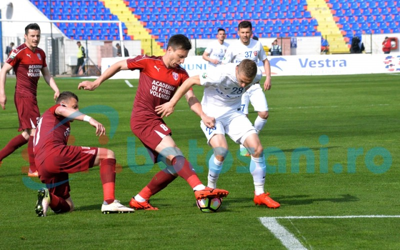 FC Botosani joaca astazi cu FC Voluntari! Alexandru Tudor va arbitra partida!
