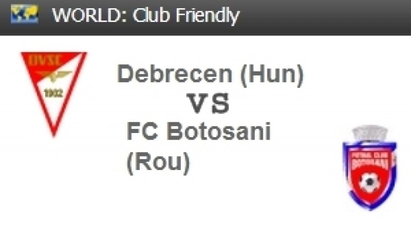 FC Botosani joaca astazi cu liderul din Ungaria