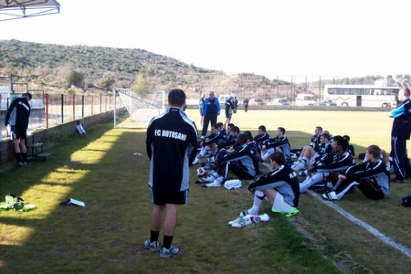 FC Botosani joaca astazi, de la ora 17:30, primul amical din Turcia