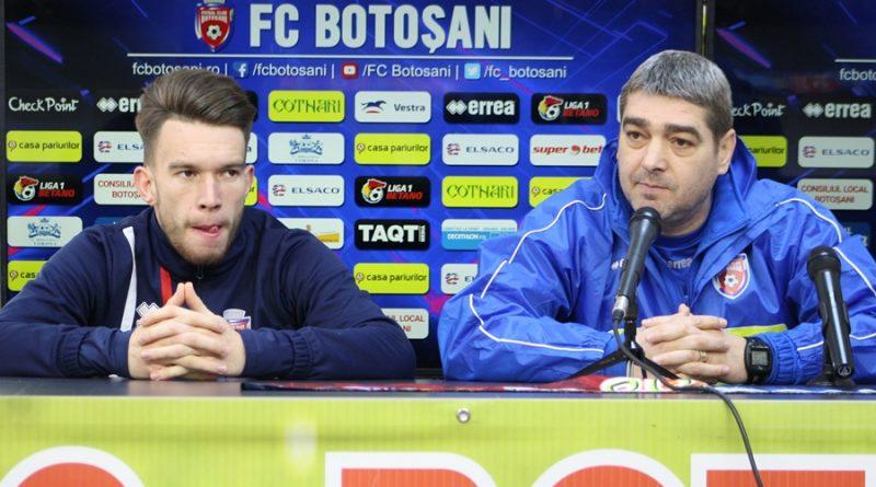 """FC Botoșani joacă astăzi împotriva echipei lui Costel Enache: """"Enache ne cunoaște, dar noi am schimbat stilul de joc"""""""