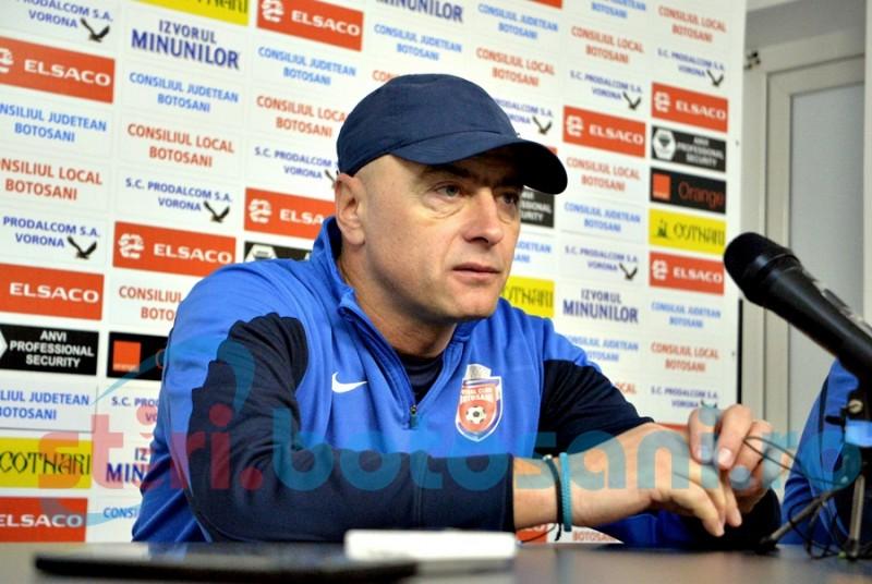 """FC Botoșani joacă duminică împotriva celor de la FCSB: """"Nu le spun nimic băieților"""""""