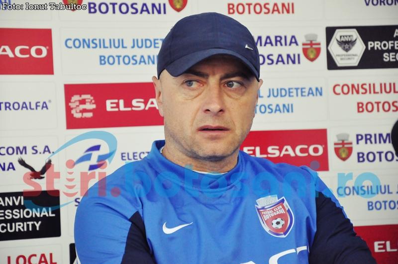 "FC Botosani joaca in prima zi de Pasti la Brasov! Grozavu: ""Speram sa venim cu lumina si cu puncte de la Brasov"""