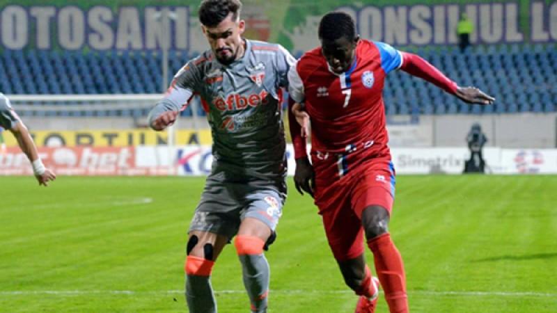 FC Botoșani joacă mâine la UTA