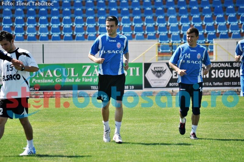 FC Botosani joaca marti un meci amical cu Luceafarul Mihai Eminescu!