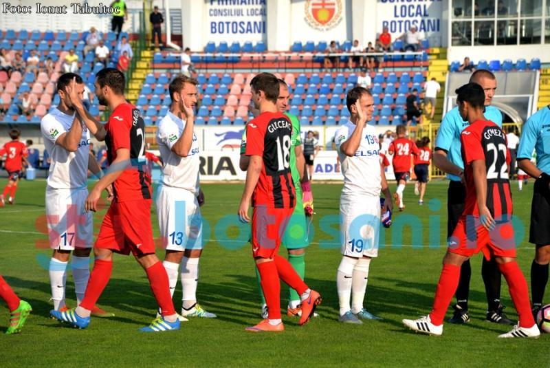 FC Botoșani joacă marți un meci amical cu o echipă de Liga a III-a