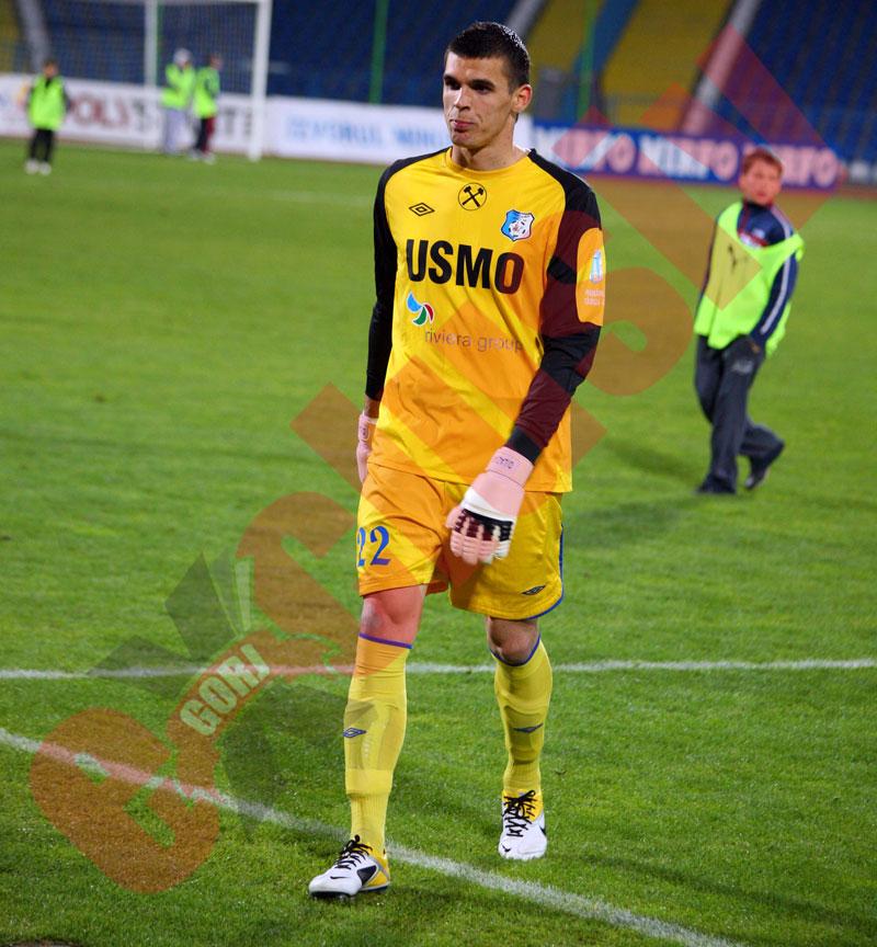 FC Botoşani l-a împrumutat pe David Lazar de la Pandurii Târgu Jiu
