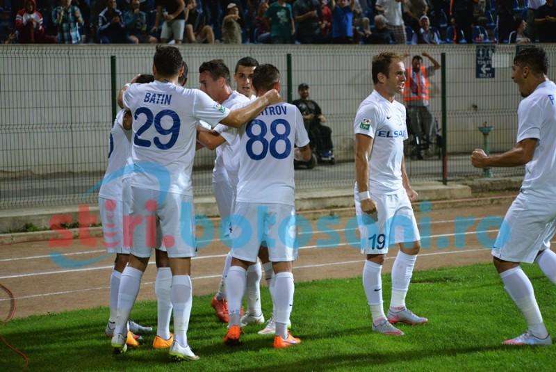 FC Botosani, la doar doua puncte de retrogradare!