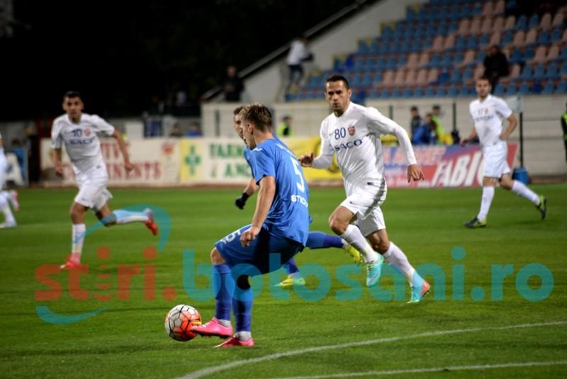 FC Botoșani, lidera duelurilor din Liga 1