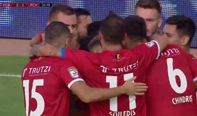 FC Botoșani, locul doi în prima ligă după victoria de ieri cu FC Voluntari