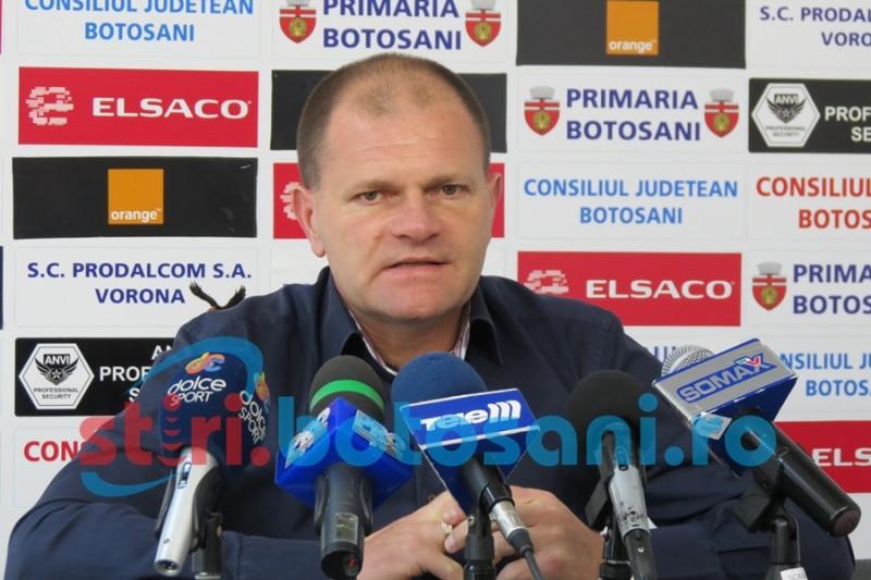 """FC Botosani merge cu incredere pe stadionul Dinamo: """"Incercam sa obtinem cat mai mult din acest meci"""""""