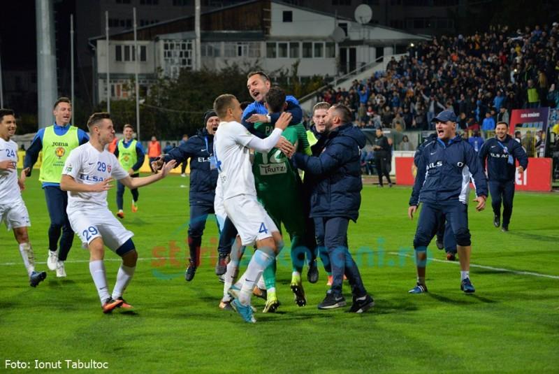 FC Botoșani o elimină pe CFR Cluj din șaisprezecimile Cupei României! GALERIE FOTO