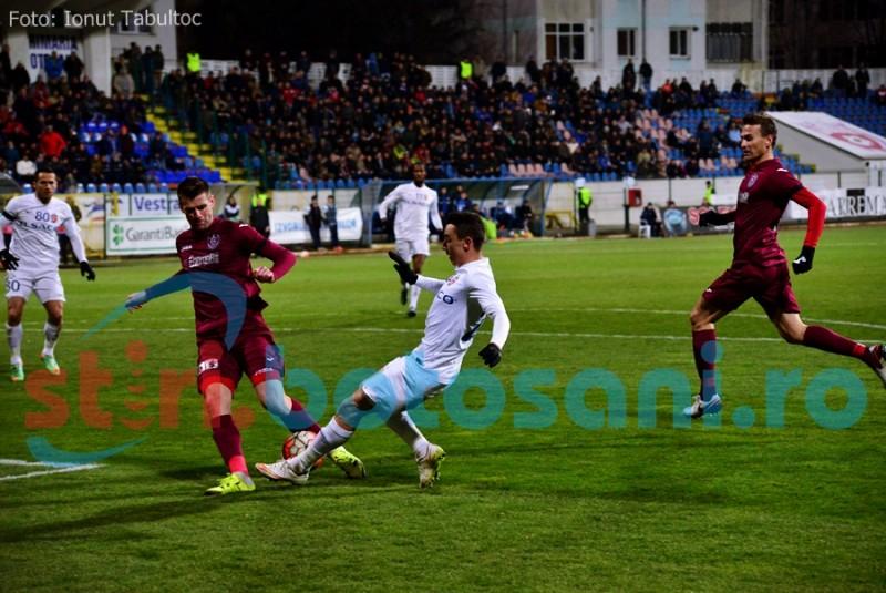 FC Botosani o poate depasi pe CFR Cluj in clasament, daca invinge in Gruia!