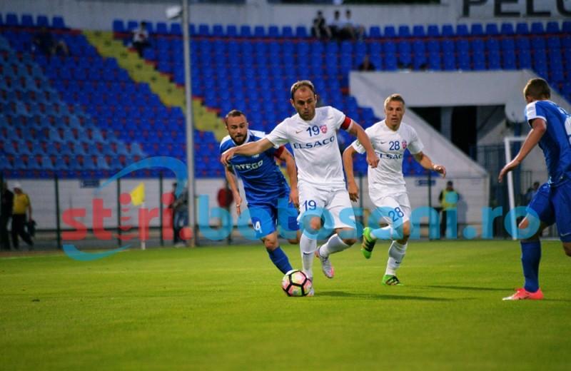 FC Botoșani o trimite pe Pandurii Târgu Jiu în liga secundă, cu un gol în minutul 94! FOTO