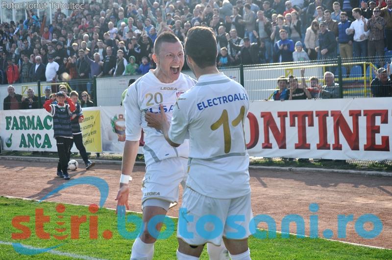 FC Botosani ocupa locul doi in clasamentul minireturului din Liga 1