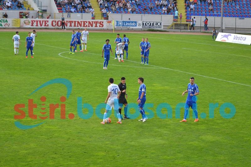 FC Botoșani - Pandurii se va juca duminică la amiază, din cauza celor de la Barcelona!