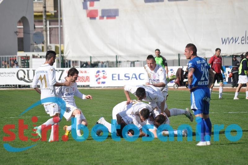 FC Botosani - Pandurii Targu Jiu: 3-2! Hatrick Fulop